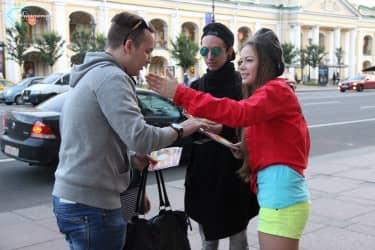 работа промоутером в Санкт-Петербурге