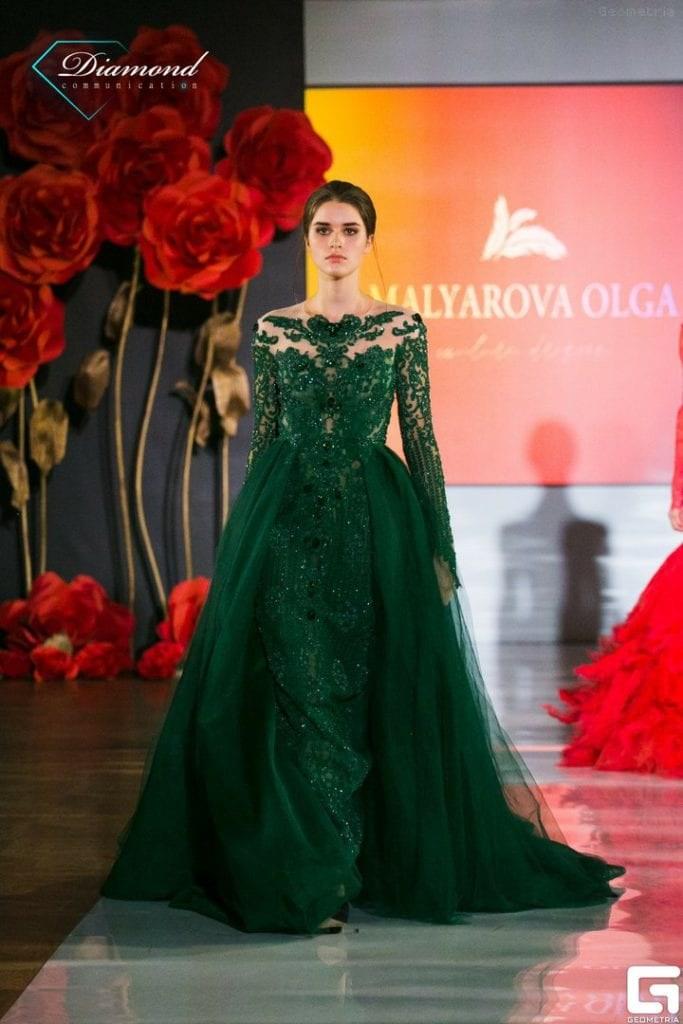 Показ дизайнера Olga Malyarova в рамках NEVA FASHION WEEK ST.PETERSBURG. -6