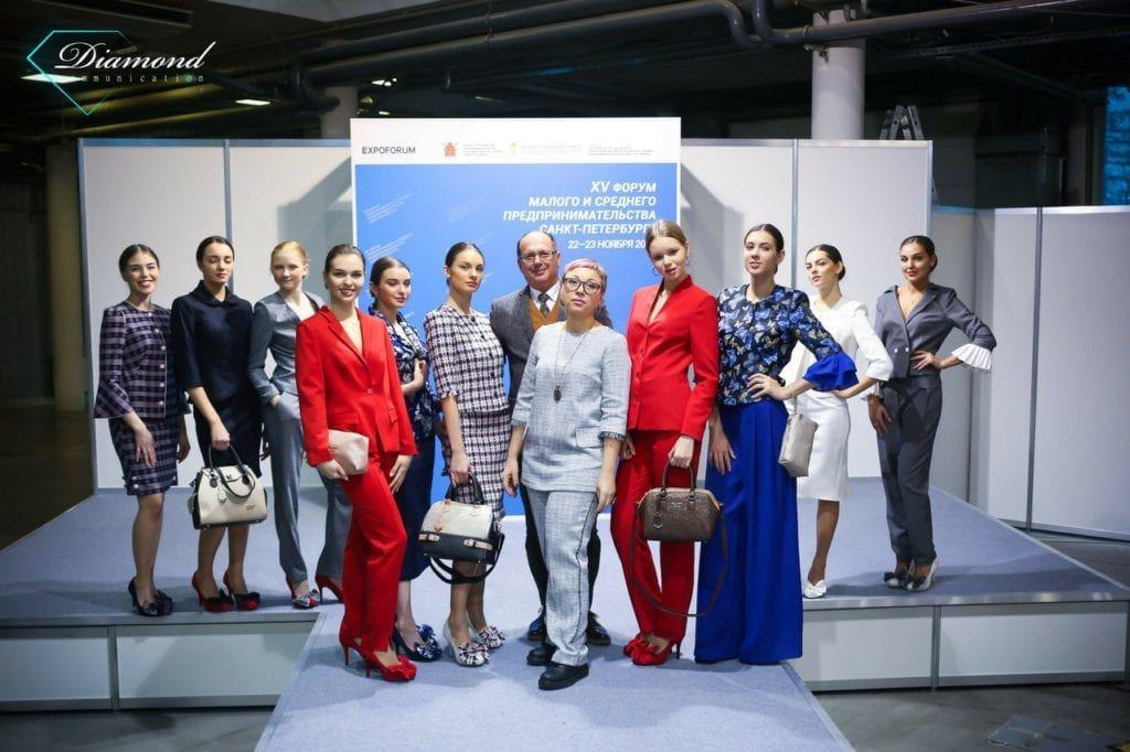 Модели Diamond Communication на Юбилейном XV Форуме субъектов малого и среднего предпринимательства Санкт-Петербурга 2017 -3