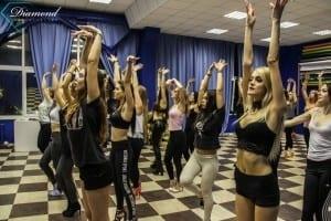 Тренинг по танцам от Diamond Communication -4