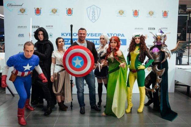 Кубок губернатора Санкт-Петербурга по киберспорту