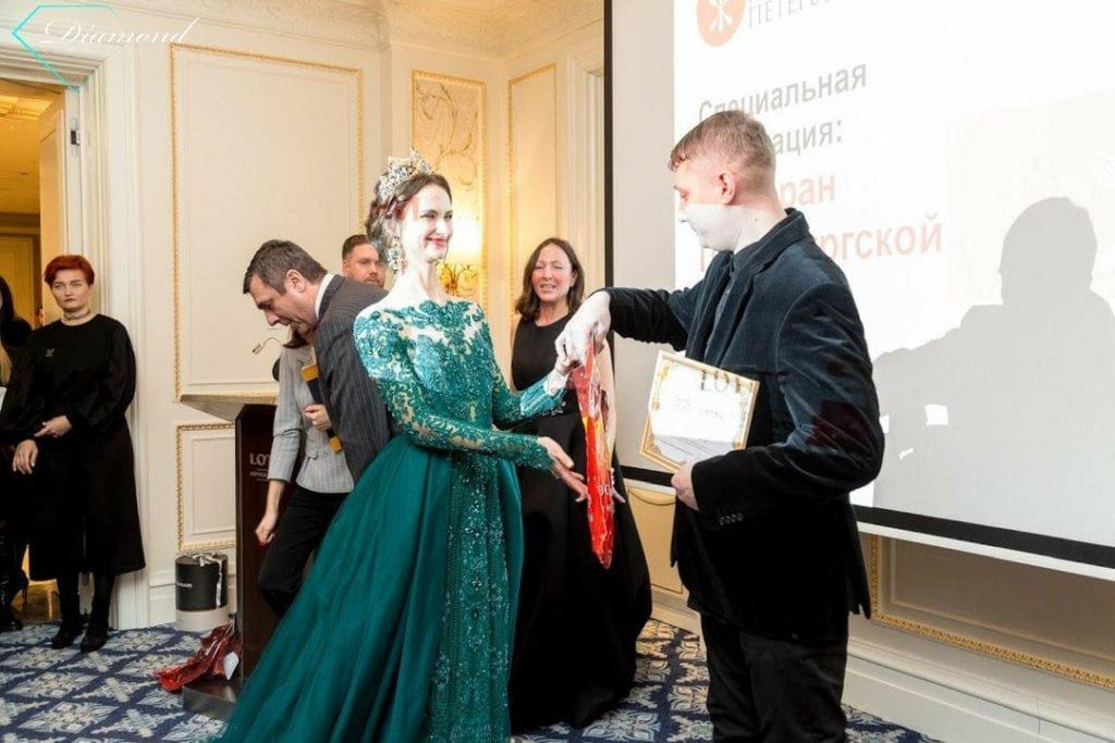 Модели Diamond Communication на церемонии награждения Премии «ТОП-100 лучших ресторанов Санкт-Петербурга» -2