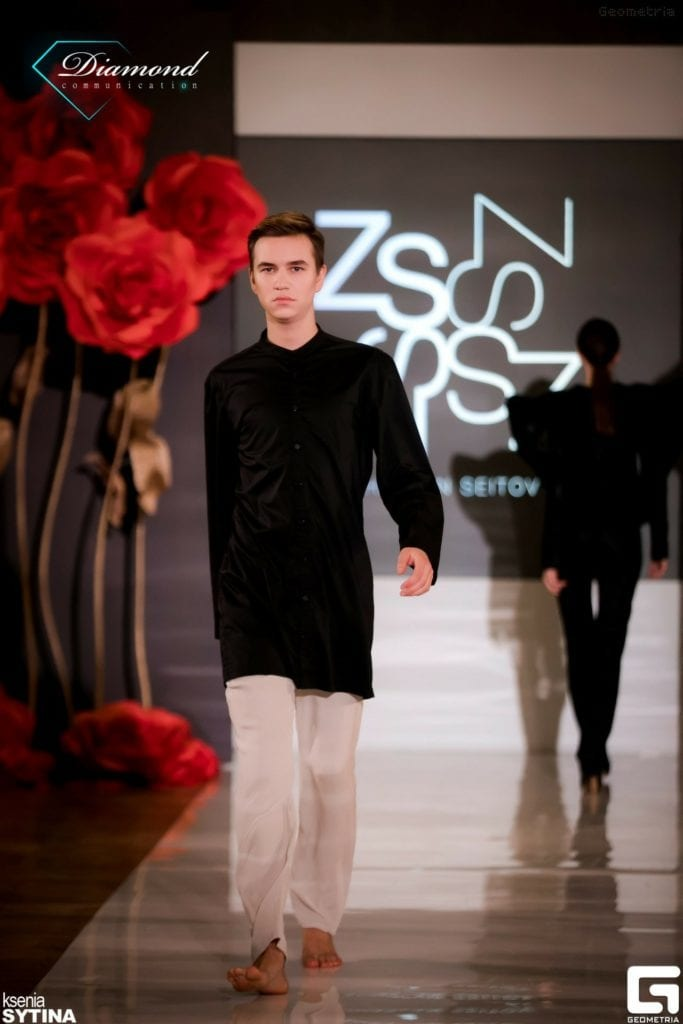 Показ Zhaslan Seitov (Moscow) в рамках NEVA FASHION WEEK ST.PETERSBURG -21