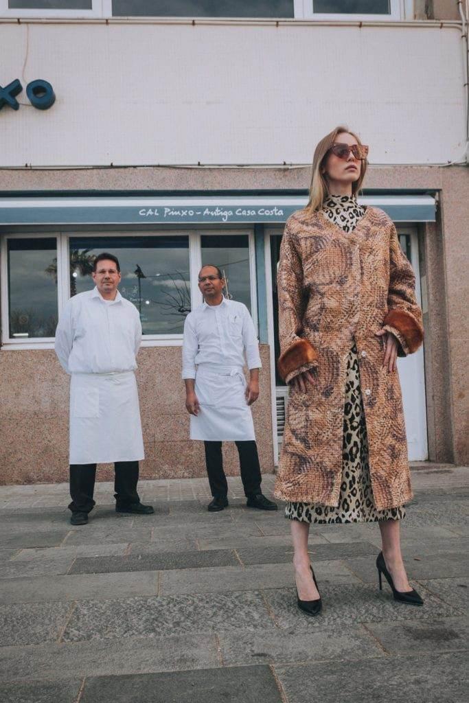 Наша модель съездила в Барселону на съемки -6
